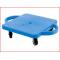 een versterkte rolplank belastbaar tot 80 kg